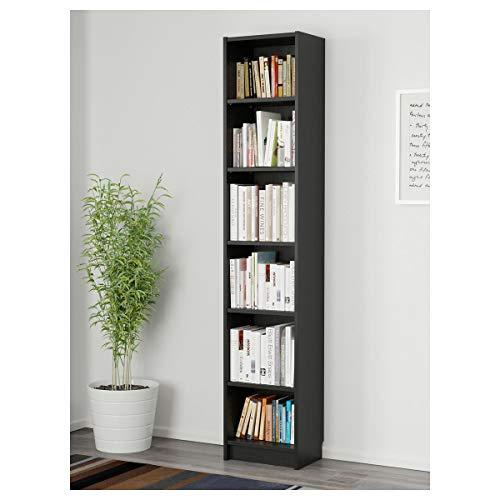 IKEA BILLY Bücherregal schwarzbraun (40x28x202 cm)