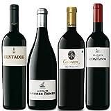 グルメソムリエ 最強の赤ワイン4本セット(コンタドール赤、ラヴィーニャ デ アンドレス ロメオ赤、カルメン グランレセルバ赤、ラ クエバ デル コンタドール赤)ビオディナミワイン ボデガコンタドール