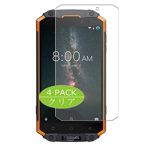 VacFun 4 Piezas HD Claro Protector de Pantalla Compatible con POPTEL P9000 MAX, Screen Protector Sin Burbujas Película Protectora (Not Cristal Templado) New Version