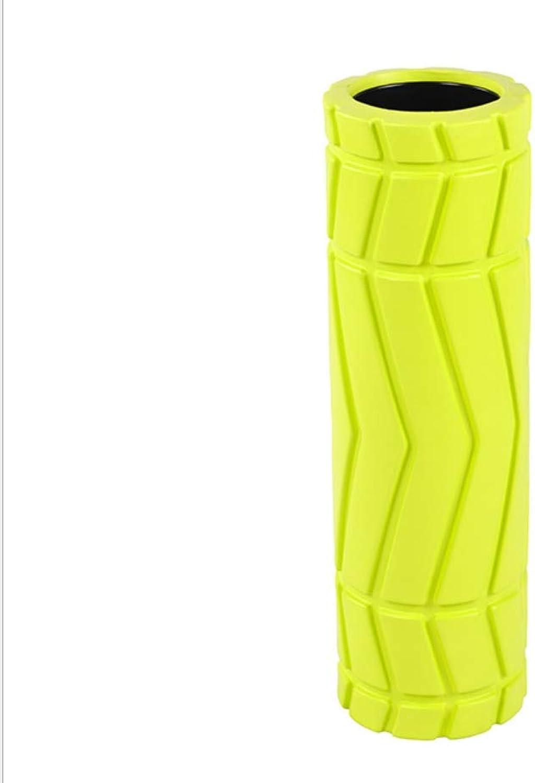 YIZHANGYoga-SULE Schaum Welle Roller Rad Massage Stick Muskel Entspannung Schaum Ofenrohr Roller Fitness Stange