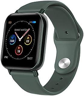 GXFNS Smartwatch Rastreador De Actividad Y Estado Físico con GPS Incorporado Ip67 Música De Frecuencia Cardíaca A Prueba De Agua Notificaciones Inteligentes,Verde