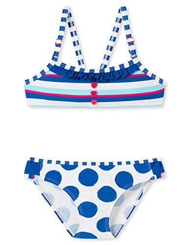 Schiesser Mädchen Aqua Bustier-Bikini Badebekleidungsset, Mehrfarbig (Multicolor 1 904), (Herstellergröße: 104)