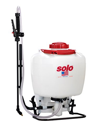 Solo 425-Deluxe 4-Gallon Professional Piston Backpack Sprayer with Deluxe Padded Straps