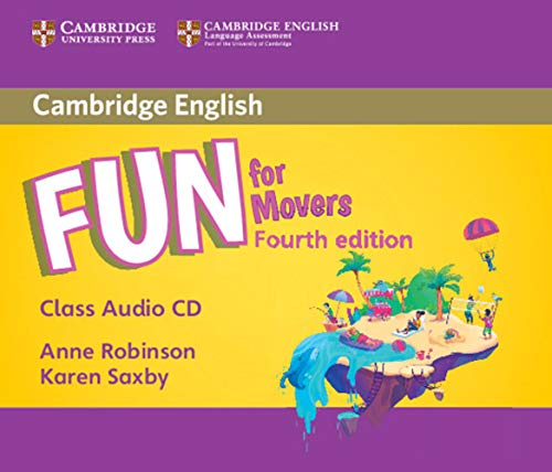 Fun for Movers 4th Edition: Audio CD