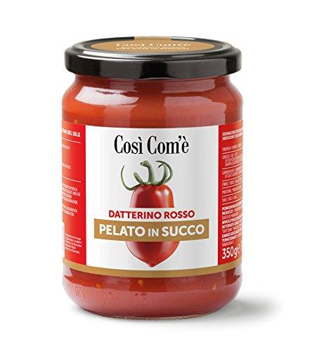 Datterino Rosso Pelato in succo ''Così Com'è'' 350g confezione da 12