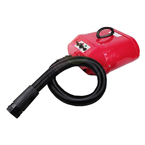 Huisdier droger, hondenalon haardroger hond kat geluidsarm professionele verwarming blaster blaster blaster pet baden accessoires rood