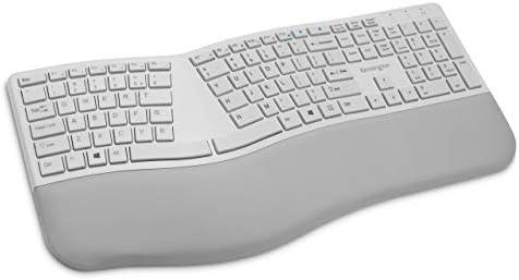 Kensington Pro Fit Ergonomic Wireless Keyboard Grey K75402US product image
