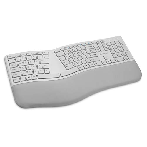 Kensington Pro Fit Ergonomic Wireless Keyboard - Grey (K75402US)