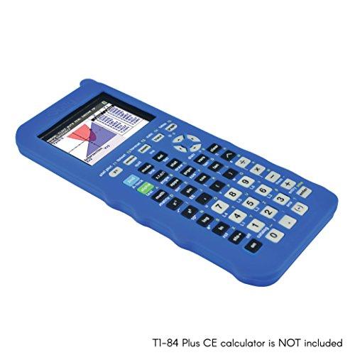 Silicone Case for Ti 84 Plus CE Calculator (Blue) - Cover for Texas Instruments Ti-84 Graphing Calculator - Silicon Skin for Ti84 Plus - Protective & Anti-Scretch Cases - Ti 84 Accessories by Sully Photo #2
