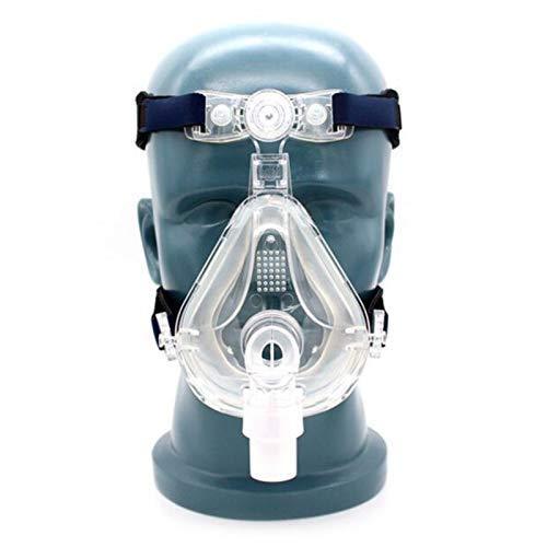 CPAP Maske Schlafmasken Vollgesichtsmaske für den Schlaf mit verstellbarer Kopfbedeckung