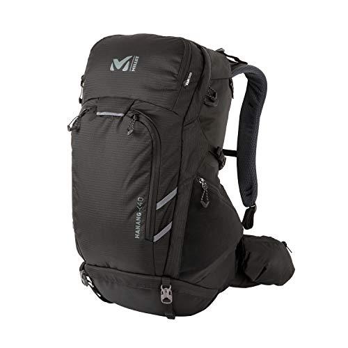 Millet – Hanang 40 – Sac à Dos Mixte pour Randonnée et Trekking – Volume 40 L – Noir