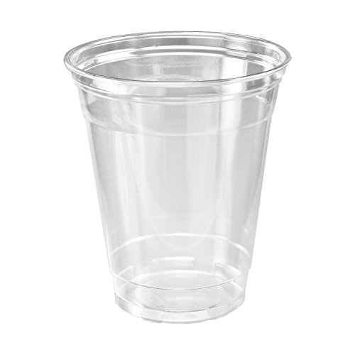 A World of Deals Clear Plastic Cups - 50/12oz Cups