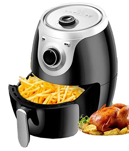 NANXCYR friteuse met snelcirculatiesysteem, instelbare temperatuurregeling, vetvrij koken zonder olie, gezond, 4 liter, 1300 W