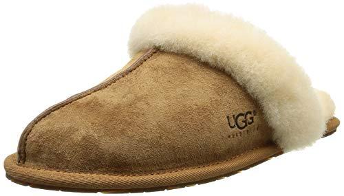 UGG W Scuffette II, Zapatillas de Estar por casa para Mujer, Marrón (Chestnut), 38 EU