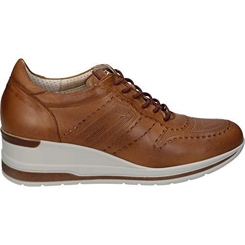 PITILLOS Schuhe 6112 SIGNORRA Leder, Braun - braun - Größe: 39 EU