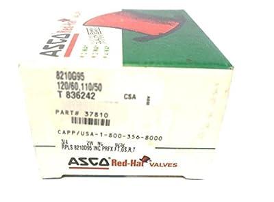 "ASCO Power Technologies 8210G95 3/4"" x 3/4"" Solenoid Valve, Normally Closed from ASCO Power Technologies"
