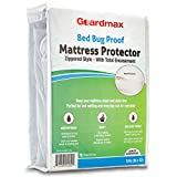 Guardmax Crib Mattress Protector Zippered Encasement Cover Bed Bug Proof Waterproof, Hypoallergenic and Noiseless, Baby & Toddler Crib Size (52 x 28)