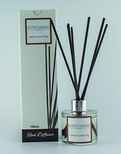 Cassis & Sweet Fig Reed Diffuser - Clyde Candles