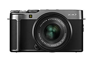 Fujifilm X-A7 Mirrorless Camera (Dark Silver) with Black XC15-45mm Lens [Amazon Exclusive] (B07XGCLWF1) | Amazon price tracker / tracking, Amazon price history charts, Amazon price watches, Amazon price drop alerts