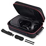 Oculus Quest Case,Raylove Carrying Case for Oculus Quest VR Gaming Headset, Shoulder Strap Waterproof and Crash-Proof Travel Protective Storage Bag (Black)