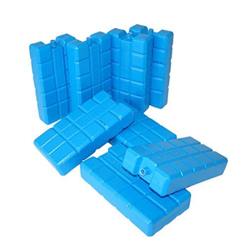 ToCi XXL Kühlakkus mit je 750 ml | Kühlelemente für die Kühltasche oder Kühlbox (8 Stück)