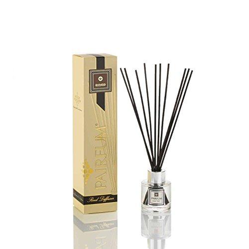 pairfum Naturel Roseau Diffuseur - longue durée & SAIN - Joli parfums ça COMPLIMENT vous - PARFUMS pour 2-3 mois (50 ml) - par PARFUM : cèdre noir - pour hommes - avec Noir roseaux