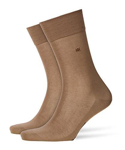 BURLINGTON Herren Socken Cardiff, Baumwollmischung, 1 Paar, Beige (Kamelhaar 4243), Größe: 40-46