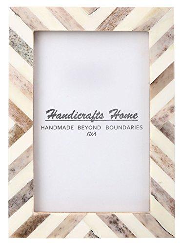Handicrafts Home Picture Photo Frame Chevron Herringbone Art Inspired...