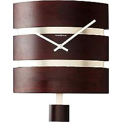 Howard Miller Morrison Wall Clock 625-404 – Rectangular with Quartz Movement