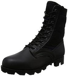 [ロスコ] ジャングルブーツ G.I. Type Black Jungle Boots (5081) MILITARY JUNGLE BOOTS メンズ