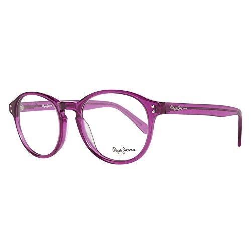 Pepe Jeans Brillengestelle P3058 C4 49 Colby Monturas de gafas, Morado (Violeta), 49.0 Unisex Adulto