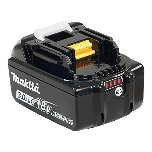 Makita LXT BL1830 Batteria 18V 3Ah Li-Ion compatibile con oltre 80 strumenti, 11,5 x 7,5 x 7 cm