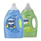 Dawn Ultra Dishwashing Liquid Dish Soap Original Scent & Ultra Antibacterial Hand Soap, Dishwashing...