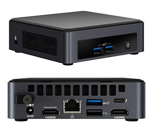 Intel NUC BKNUC8V7PNK barebone per PC/stazione di lavoro i7-8665U 1,9 GHz UCFF Nero BGA 1528