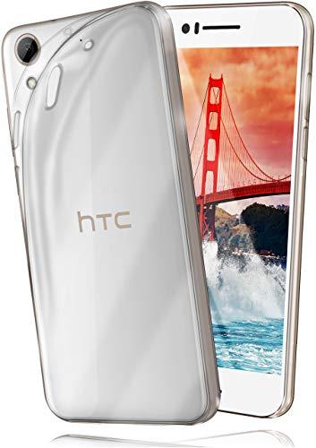 moex Aero Hülle kompatibel mit HTC Desire 728 / 728G - Hülle aus Silikon, komplett transparent, Klarsicht Handy Schutzhülle Ultra dünn, Handyhülle durchsichtig einfarbig, Klar