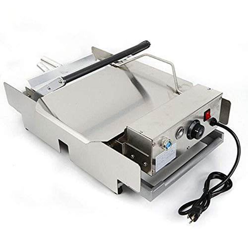 Electric Hamburger Baking Machine 110V 2000W Commercial Home Double Layer Burger Baker Batch Bun Toaster Bread Heating Charter Cooking 50-300°C