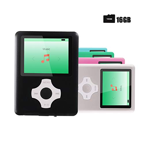 Product Image of the Ultrave MP3/MP4 Player with 16G SD Card, Portable Lossless Sound Player,...