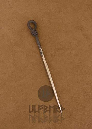 Mittelalterlicher Esspfriem Essdorn 22cm geschmiedet aus Edelstahl Mittelalter LARP Lagerleben Wikinger