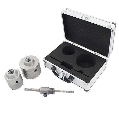 Dreneco Sierra Corona Perforadora Hormigon en Seco Ø 60,80mm + Adaptador SDS...