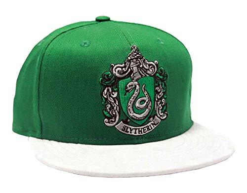 Harry Potter Slytherin House Crest Nue - Gorra de béisbol, color verde 12