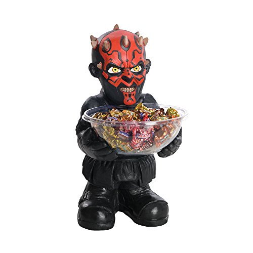PARTY DISCOUNT NEU Candy-Bowl-Holder Darth Maul, ca. 50 cm