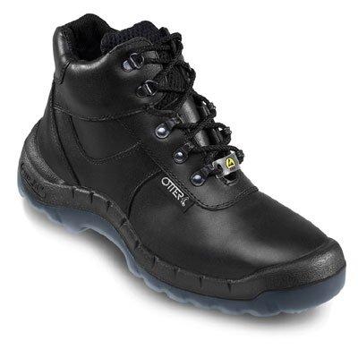 OTTER 93659 ESD Sicherheitsstiefel Sicherheitsschuhe Arbeitsschuhe Hoch Stiefel, Größe:36