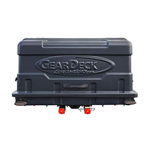 Let's Go Aero H00604 Geardeck Slide-Out Cargo Carrier with LED Tail Light Kit (17 C.F.)