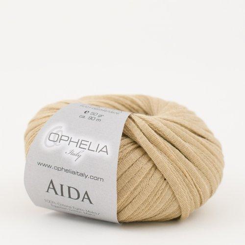 Ophelia Italy Aida – Fettuccia Cotone 50g fettuccia 5mm 100% Puro Cotone Egiziano Makò (011...