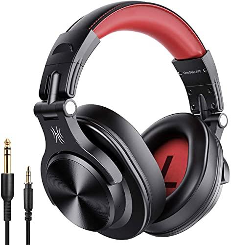 OneOdio Bluetooth Over Ear Headphones, Studio Headphones with...