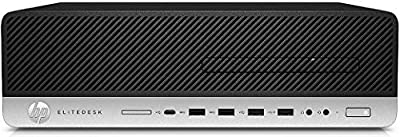 HP EliteDesk 800 G5 SFF Desktop PC - Intel Core i7-8700 - 16GB DDR4 SDRAM - 256GB SSD - WiFi/BT - Intel UHD Graphics 630 - Windows 10 Pro - New