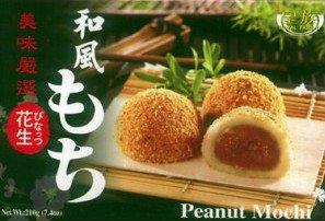 Torte da dessert giapponesi Mochi alle cacaue, confezione da 6 pezzi, 210 g