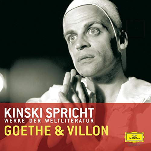 Kinski spricht Goethe und Villon Titelbild