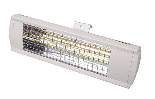 GREADEN Termoconvettore a parete alogena 2000W–Lampada d' oro–Radiatore di Cortile–Riscaldamento da terrazzo–rm12028–200