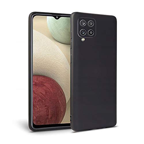 Tech-Protect Icon Hülle - Hülle | Kompatibel mit Samsung Galaxy A12 | Schwarz